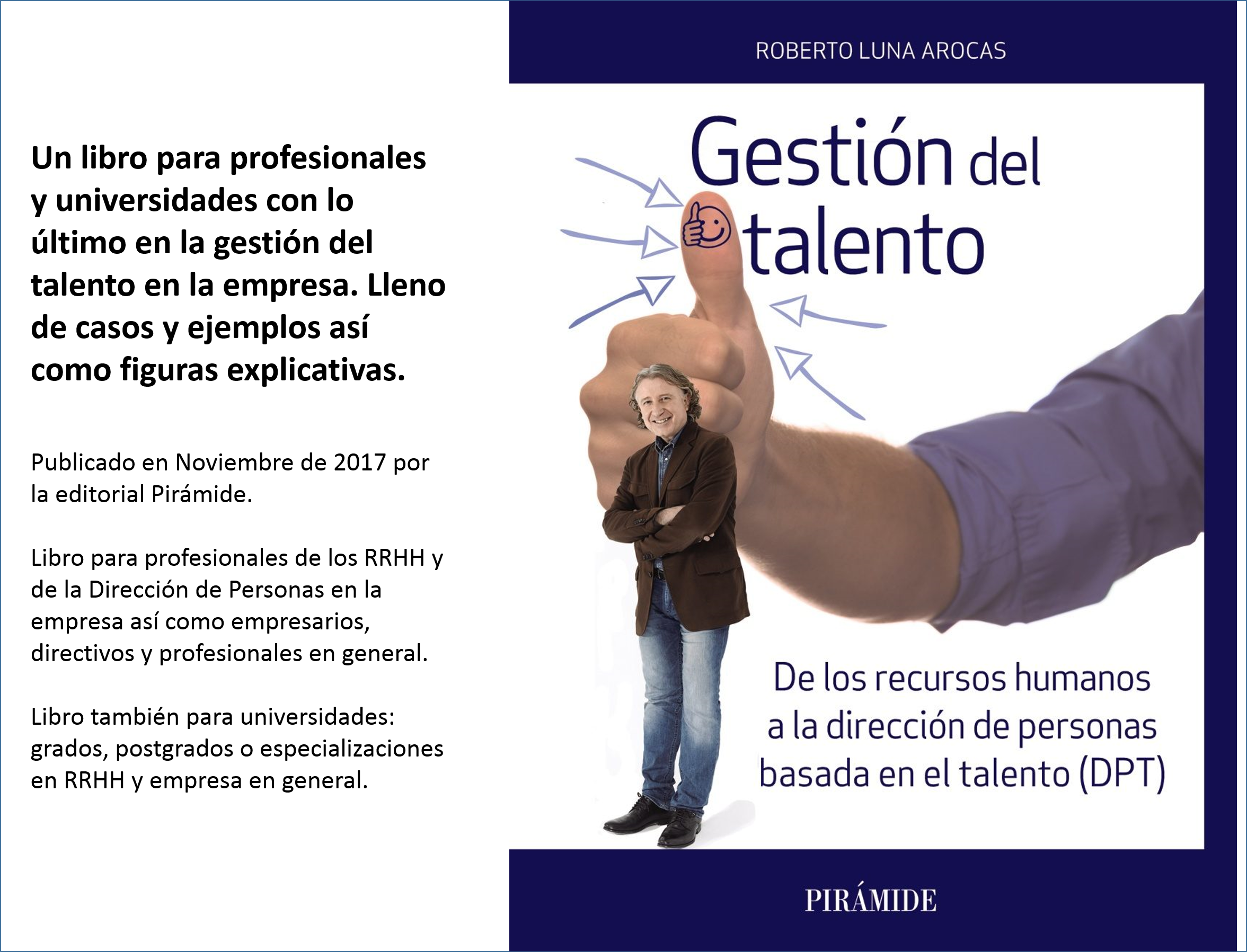 Libro gestión del talento Roberto Luna