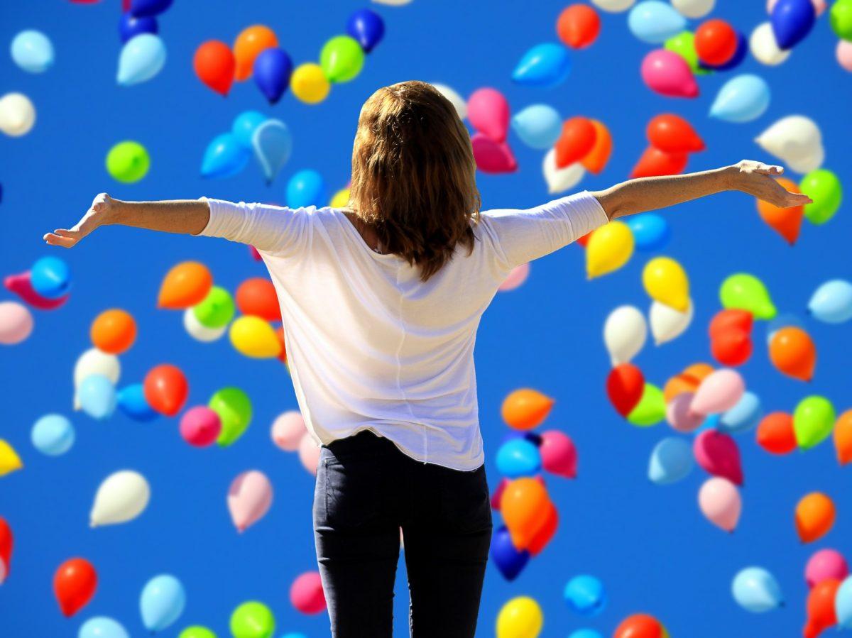 La felicidad, bienestar y satisfacción en la vida.