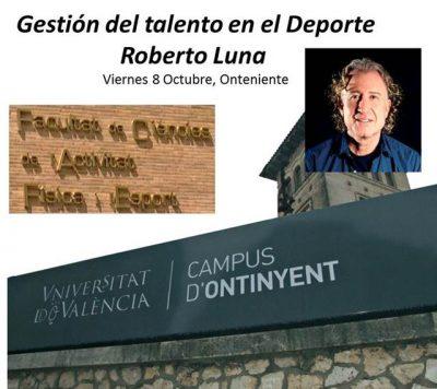 Conferencia Roberto Luna Onteniente Talento y Deporte