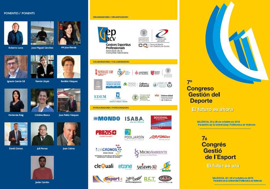 Conferencia Roberto Luna La gestión del talento: retos y oportunidades en la gestión deportiva. Roberto Luna. Universitat de València.