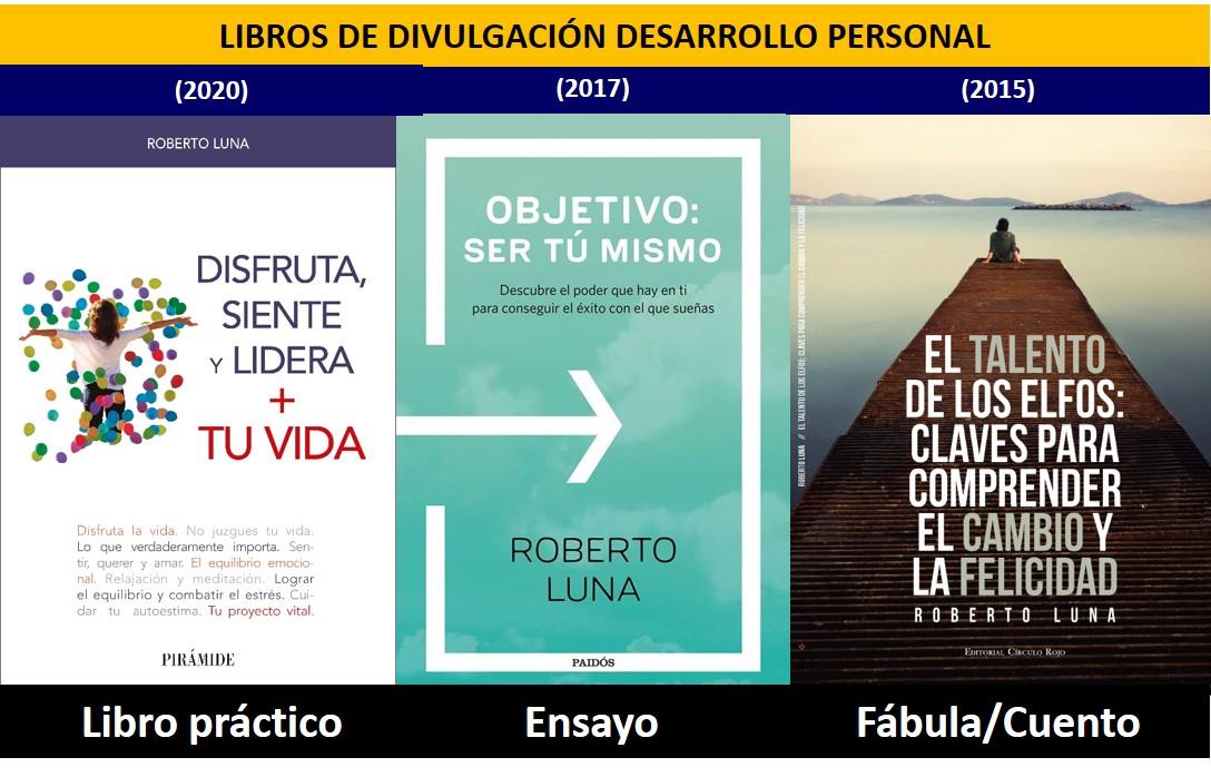 Libros Roberto Luna Desarrollo Personal